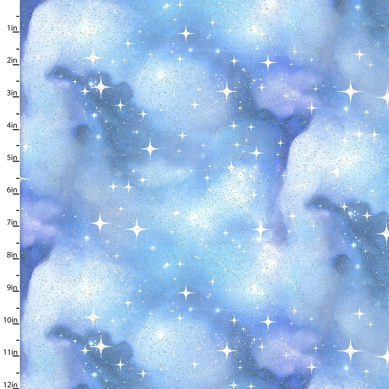 Magical Galaxy Blue Twilight Glitter