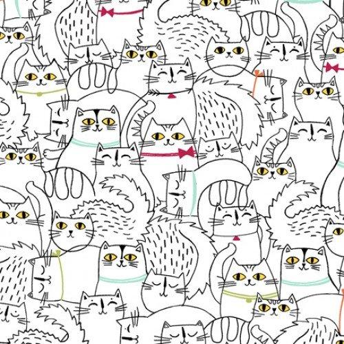 Cat Fish Sketched Cats