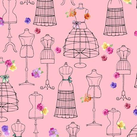 Amour De Fleur Mannequins Pink