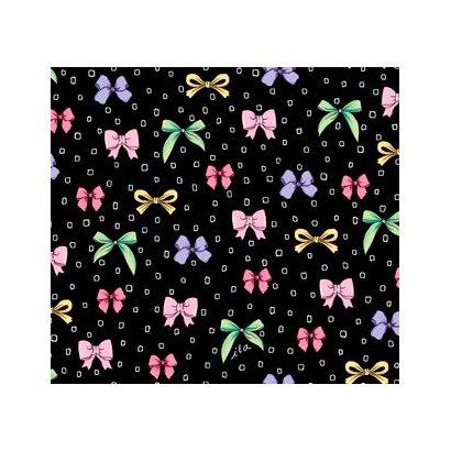 Amour De Fleur Bows Black