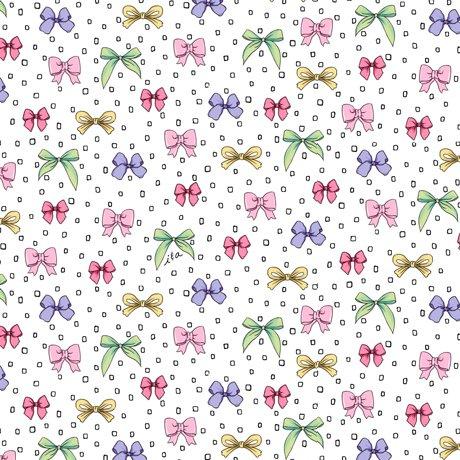 Amour De Fleur Bows White