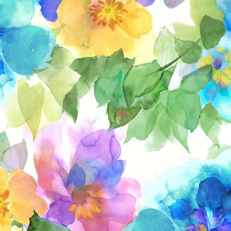 Charlene Watercolor Floral