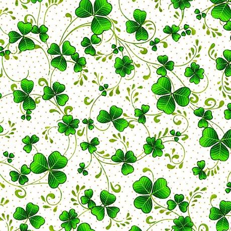 Irish Wishes Shamrock Vine