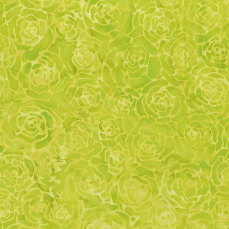 Quiltessentials Roses Chartreuse