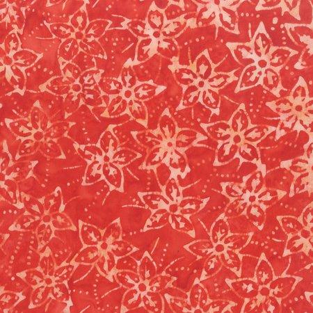 Quiltessentials Starflowers Poppy