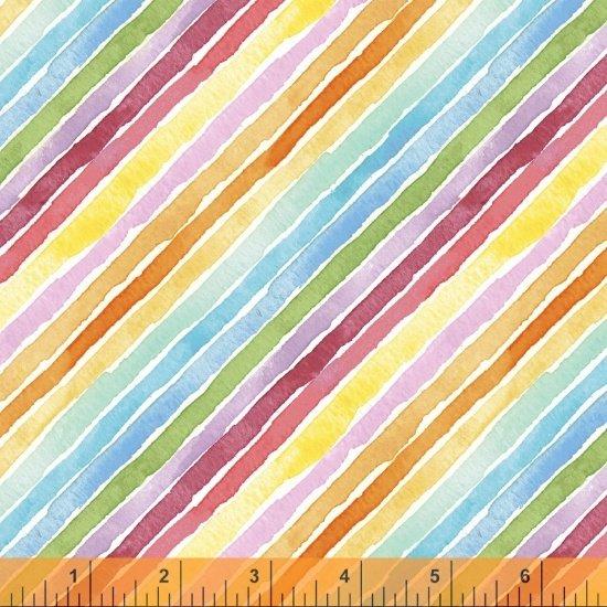 Rain or Shine Rainbow Stripe