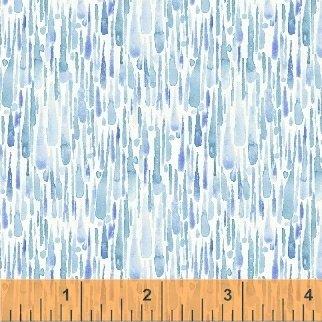 Rain or Shine Blue Rain Drops