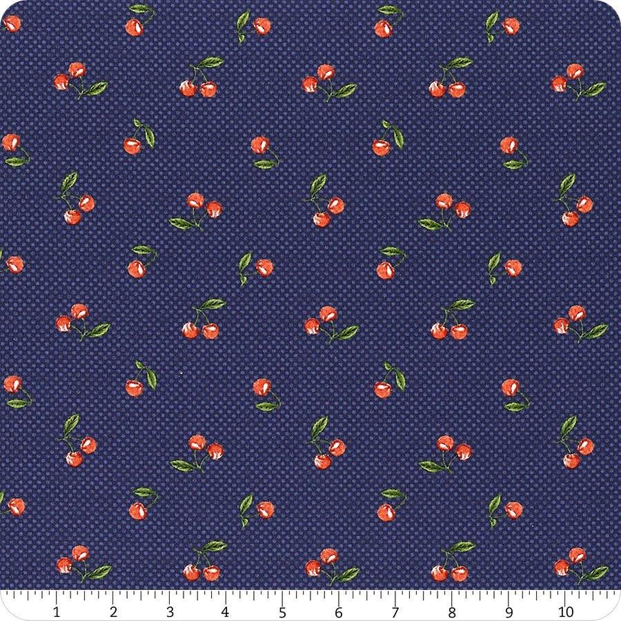Berry Best Cherries on Navy