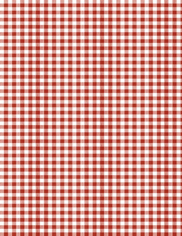 Berry Best Red Gingham