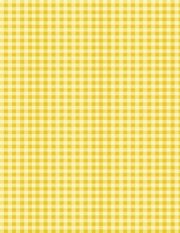 Berry Best Yellow Gingham