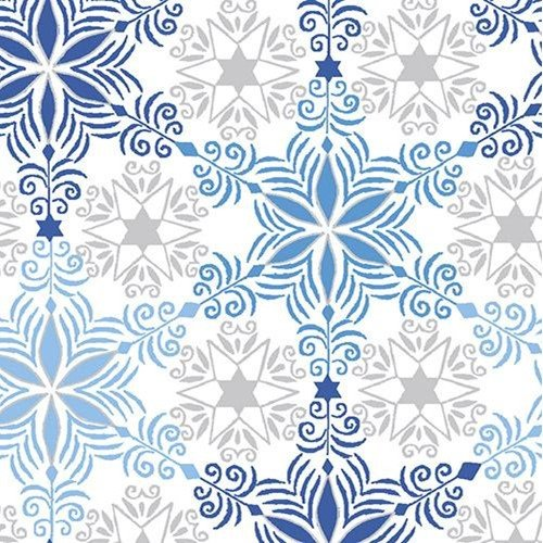Blue Holiday Star Blue