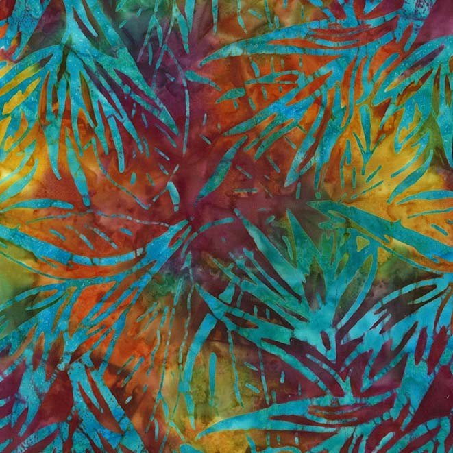 Palm Bloom Batik Calypso