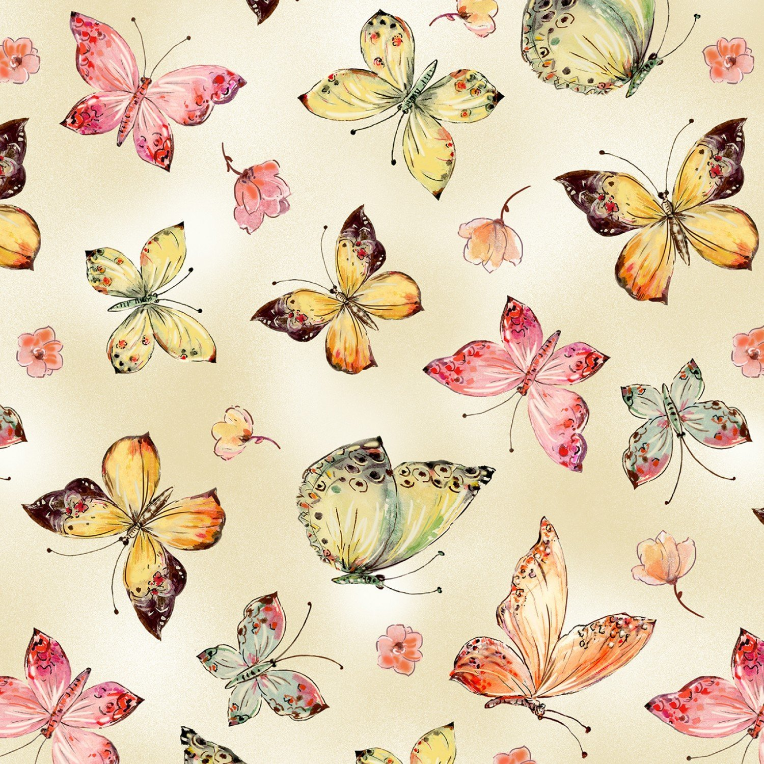 All Over Butterflies