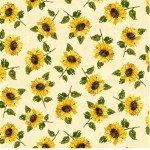 Mini Sunflowers-Cream