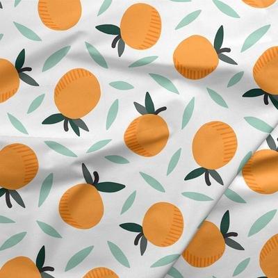 Fruity Oranges White