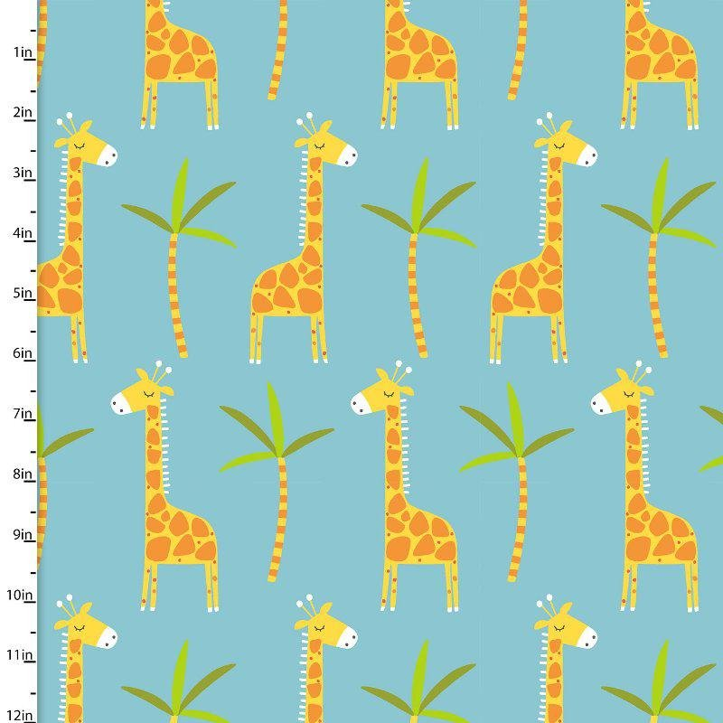 Stay Wild Blue Giraffes
