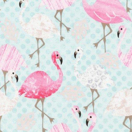 Artistic Flamingos