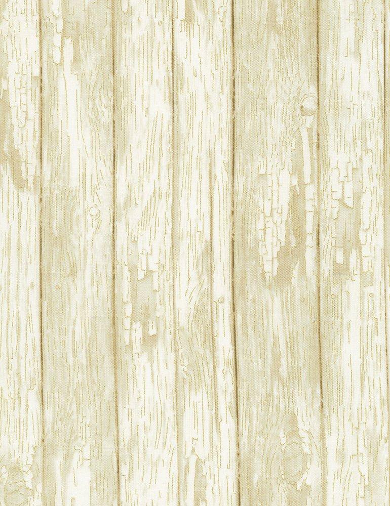 Harvest Metallic Wood Paneling