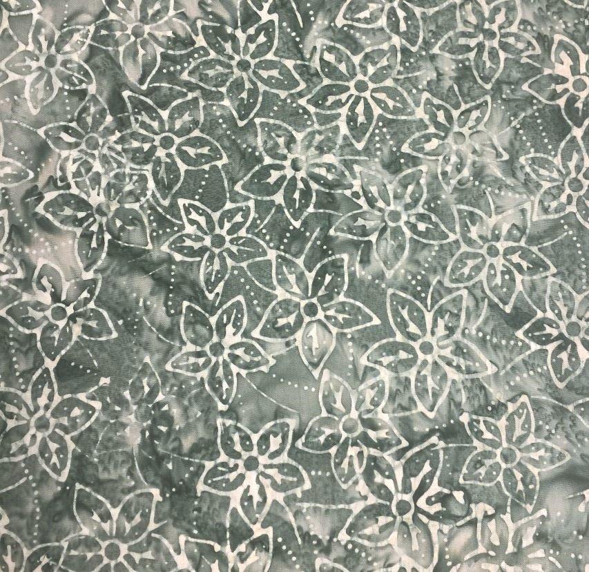 Quiltessentials Starflowers Pewter