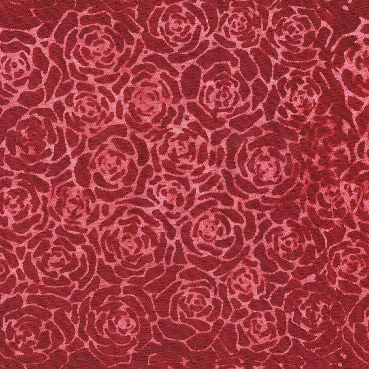 Quiltessentials Roses Cherry