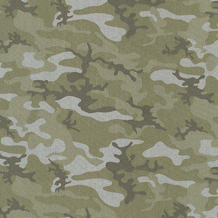 Chambray Camouflage Print