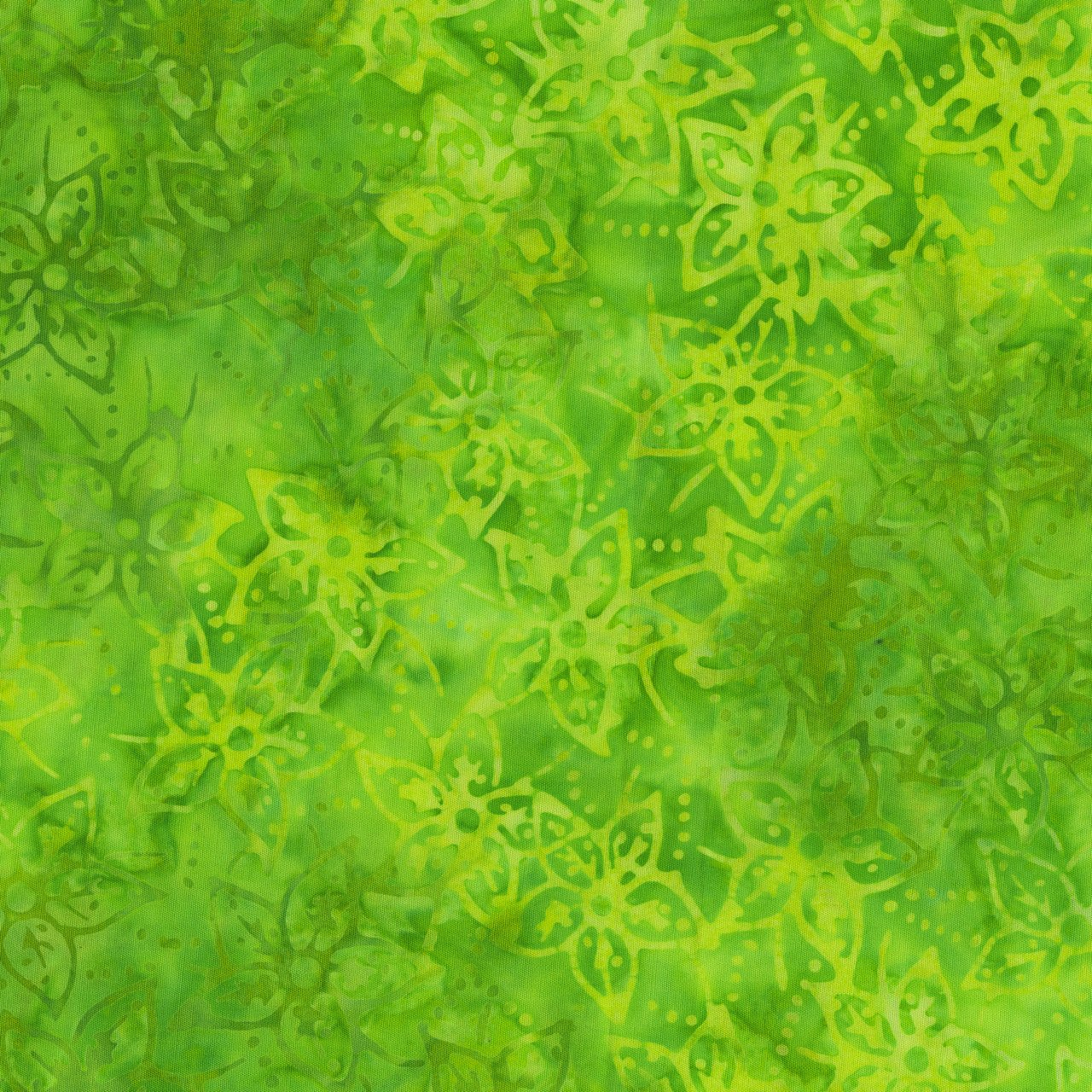 Quiltessentials Starflowers Matcha