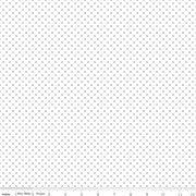 Swiss Dot on White Sparkle