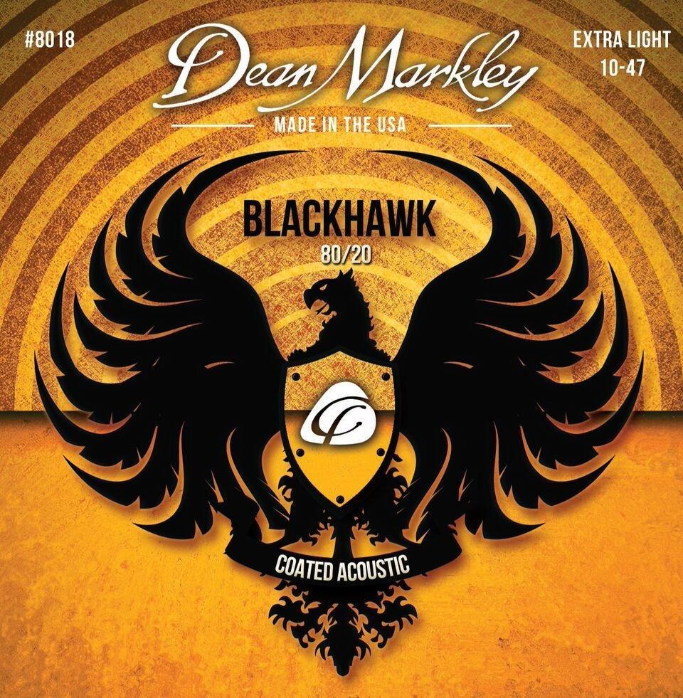 Dean Markley Blackhawk Coated Acoustic Strings 10-47