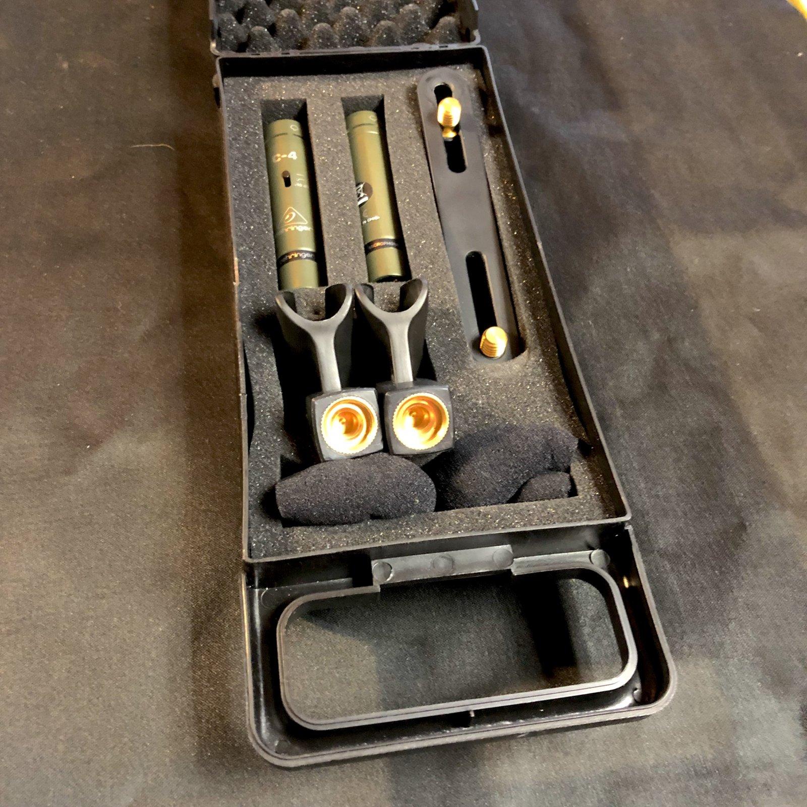 Behringer C-$ Condenser Mic Set