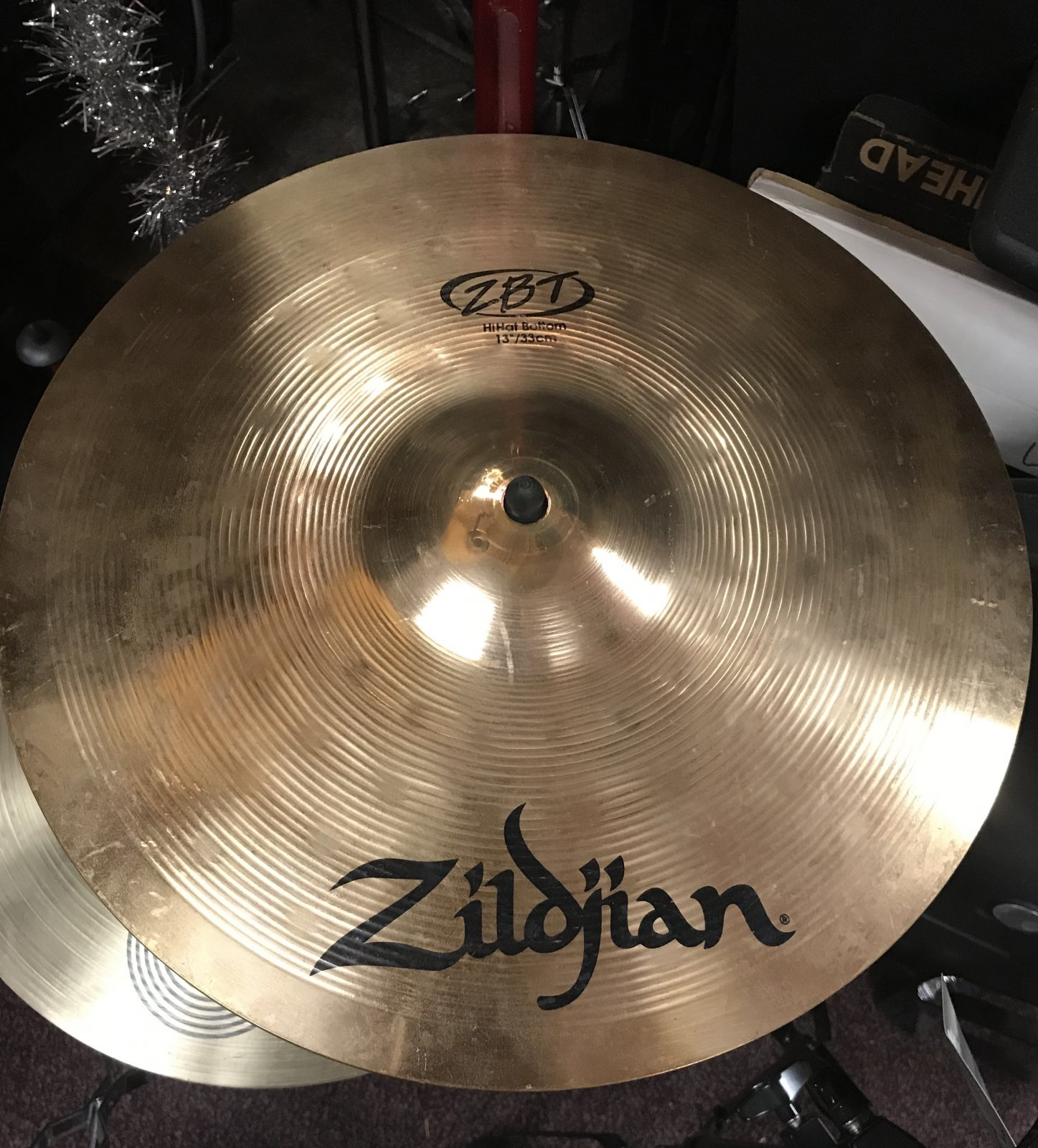 Used Zildjen ZBT 13 Hi Hats