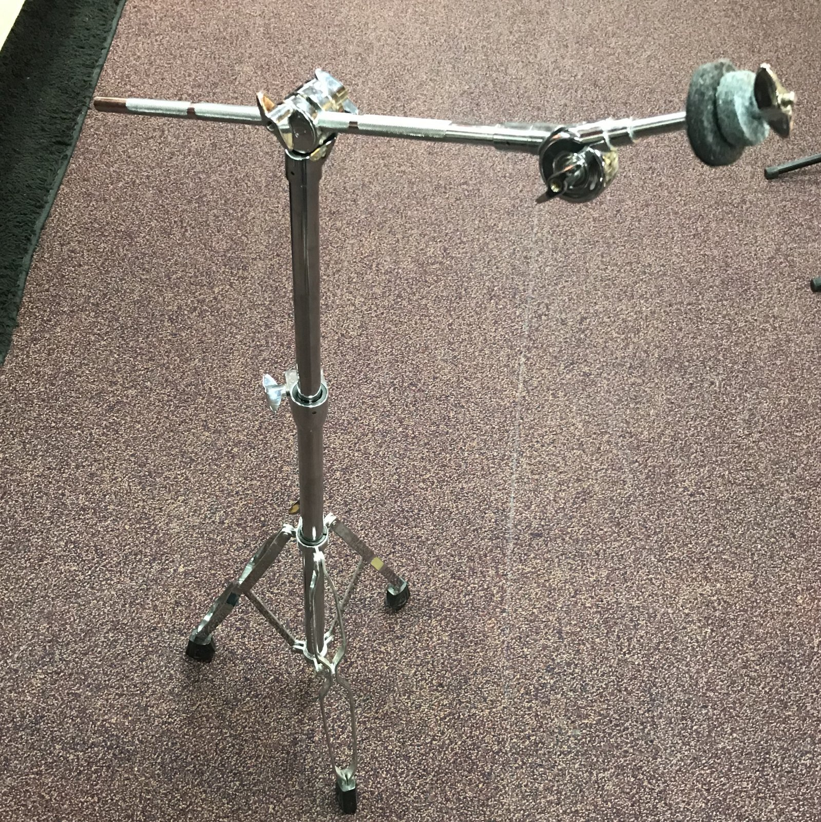 Used Sound Percussion Boom Cymbal Stand
