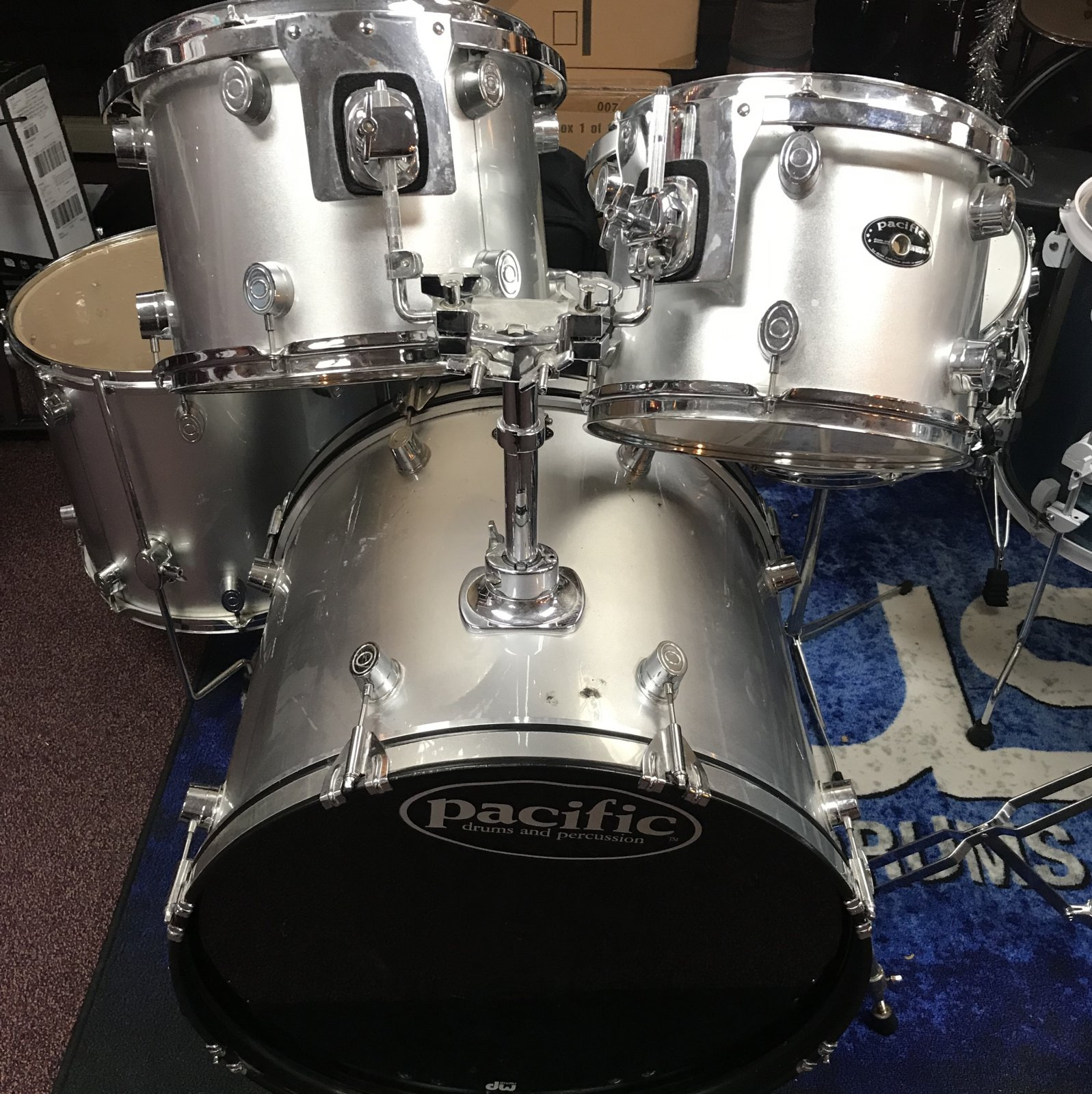 Pacific Drum Set Used