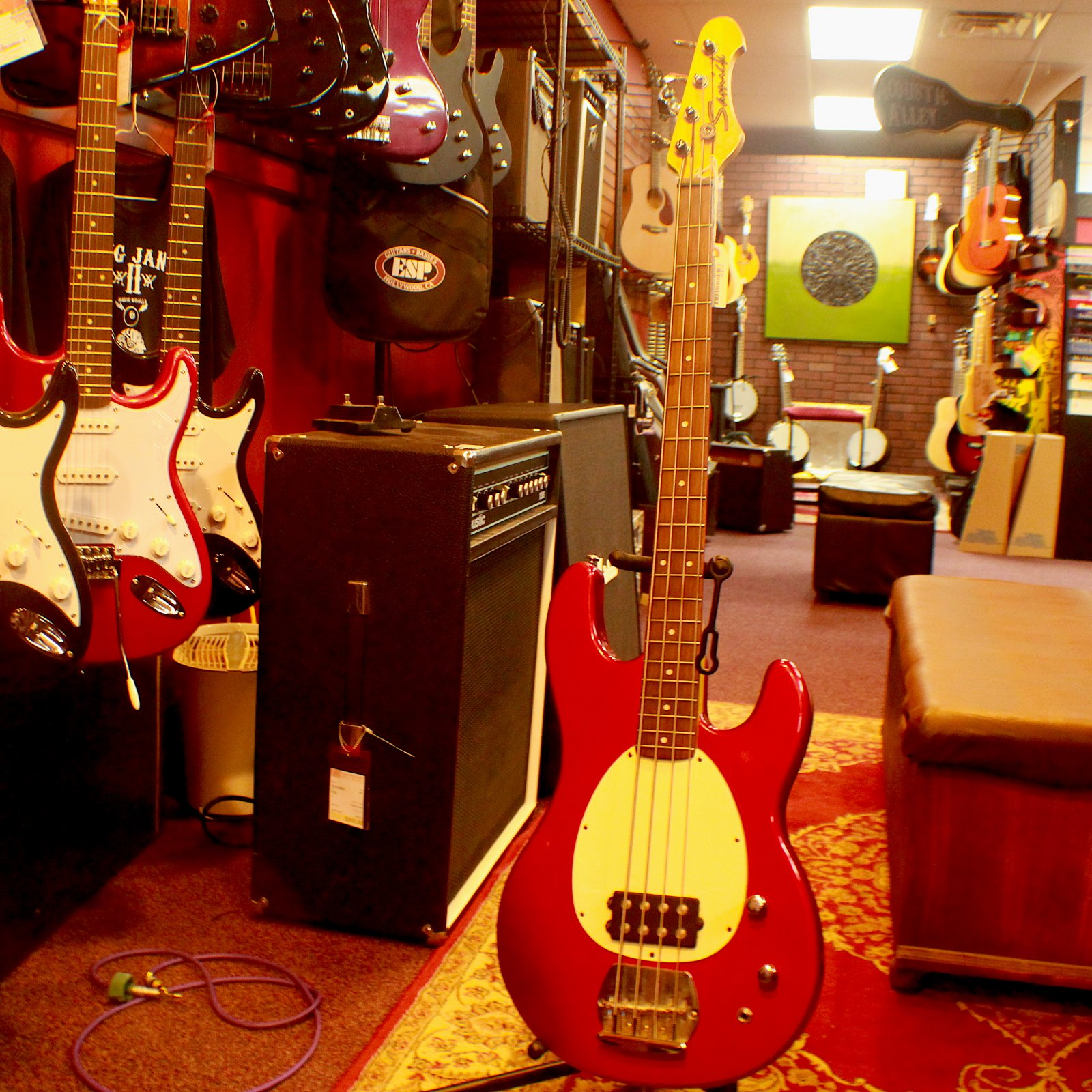 Samick Music Man Style Bass