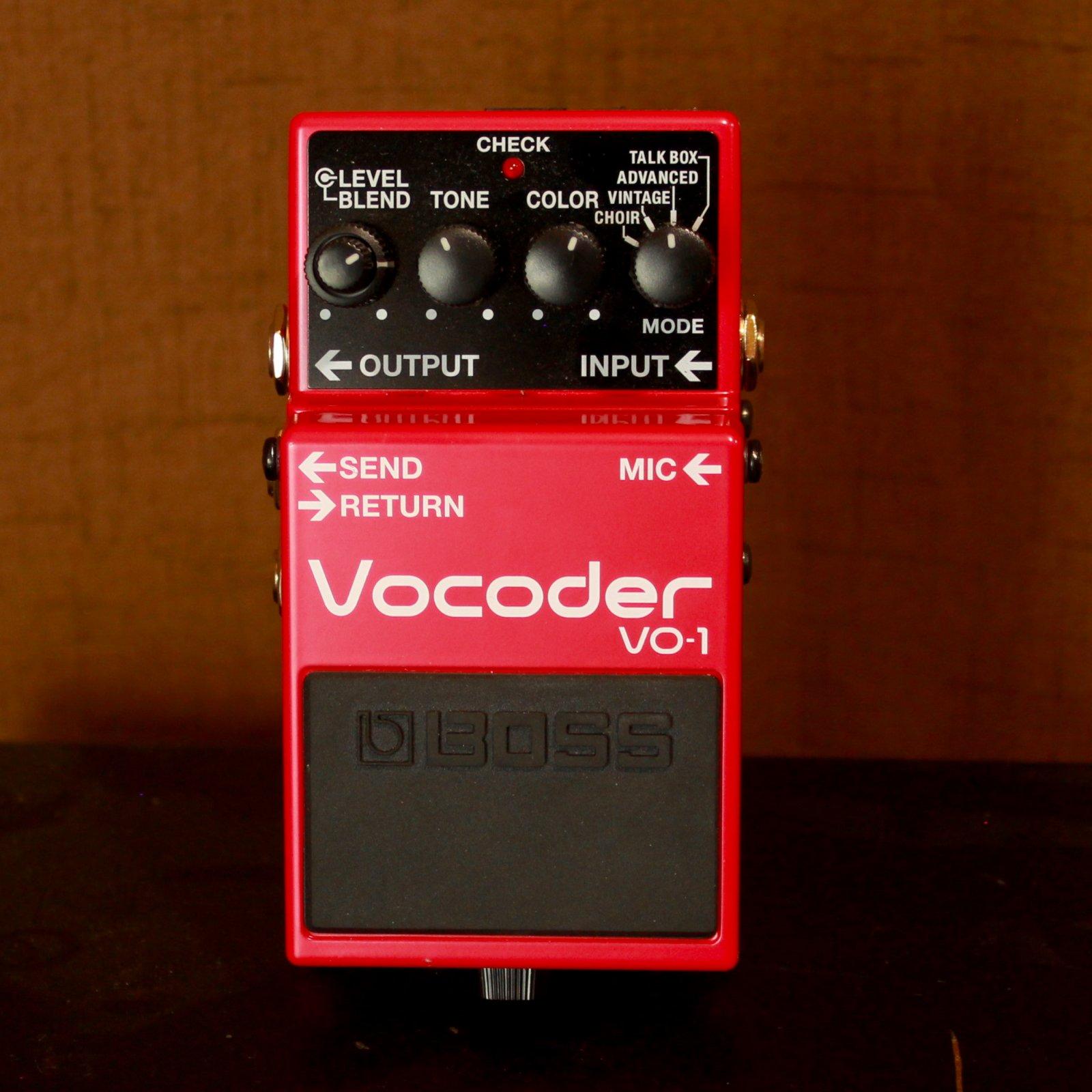 Boss Vocoder USED