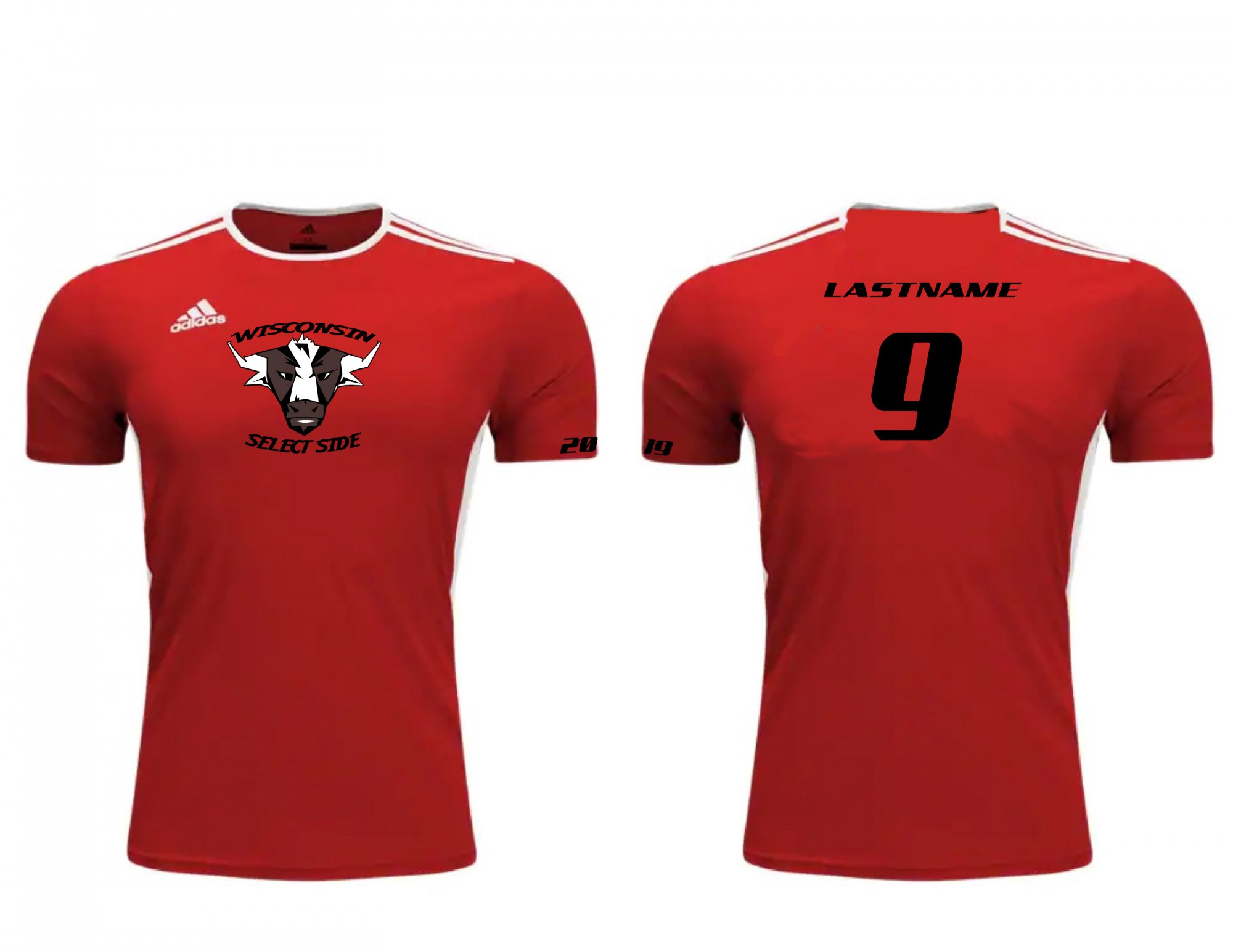 Wisconsin Select Side Jersey