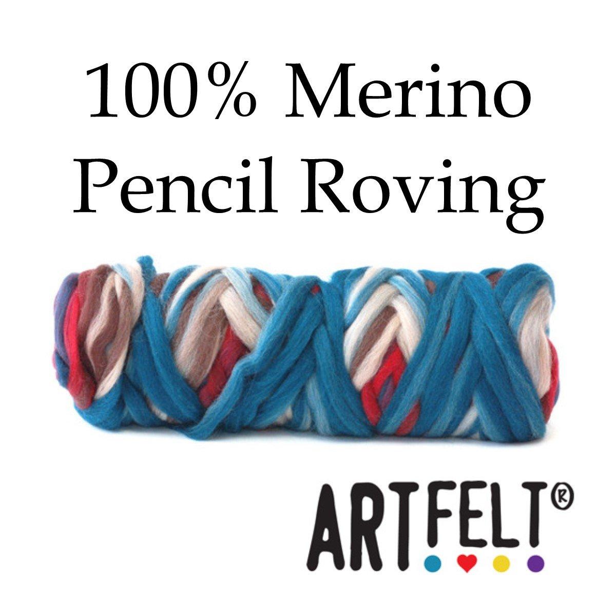 100% Merino Pencil Roving