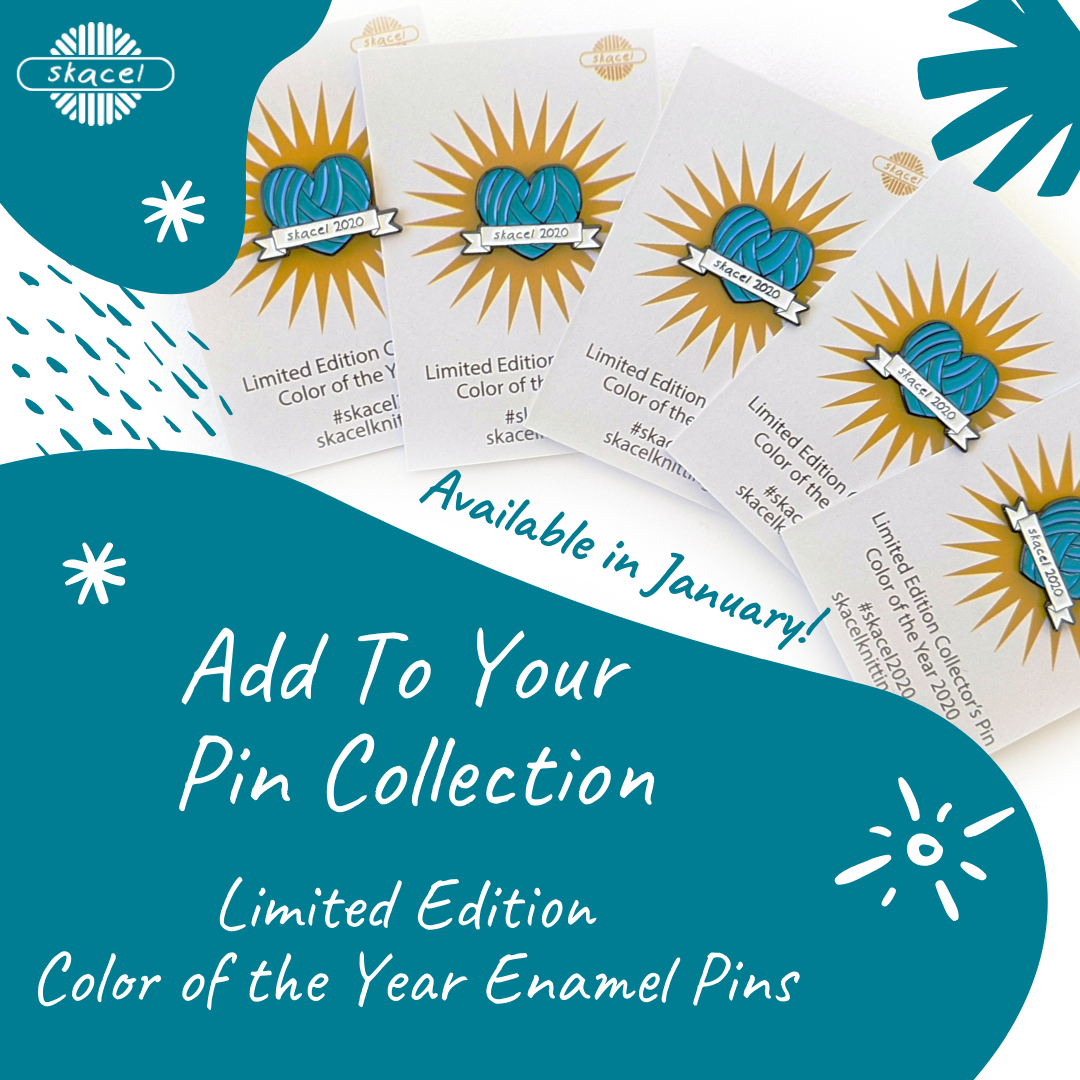 Skacel Color of the Year Enamel Pins