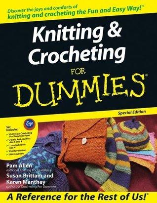 Knitting & Crochet for Dummies Set
