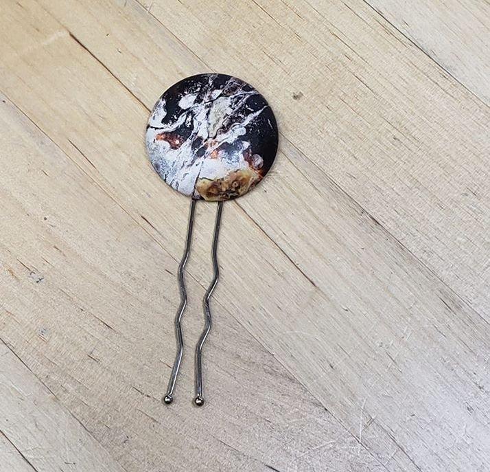 Shawl Button Fork Pins