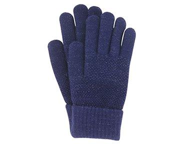 Shimmer Stretch Knit Gloves