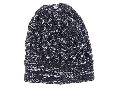 Marl Cabled Beanie Hat