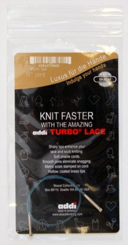 addi Short Tip Lace (Rocket) Cord