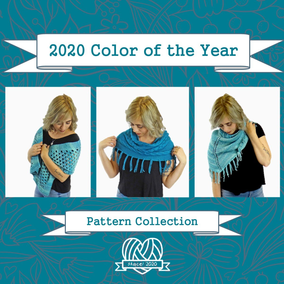 2020 Skacel Color of the Year Pattern Collection