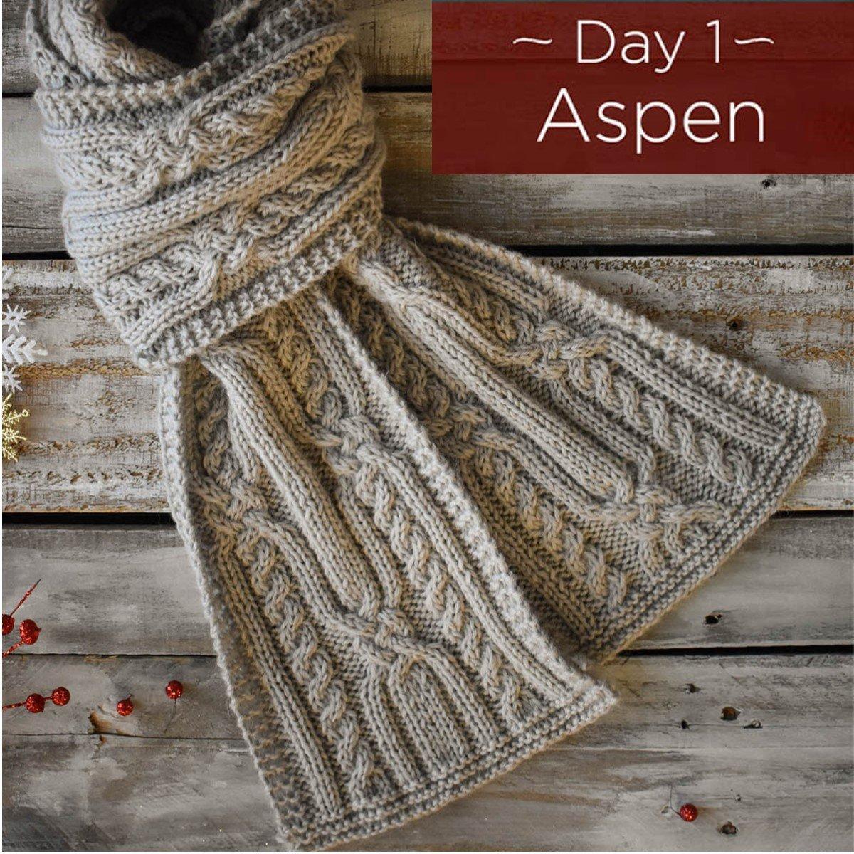Aspen Scarf Kit - Day 1