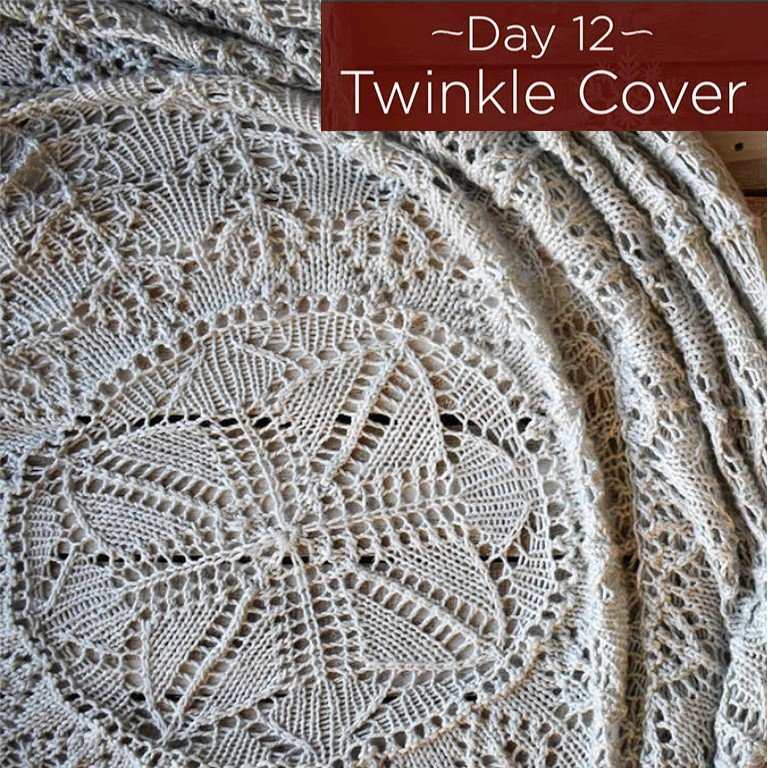 Twinkle Cover Afghan Kit - Day 12