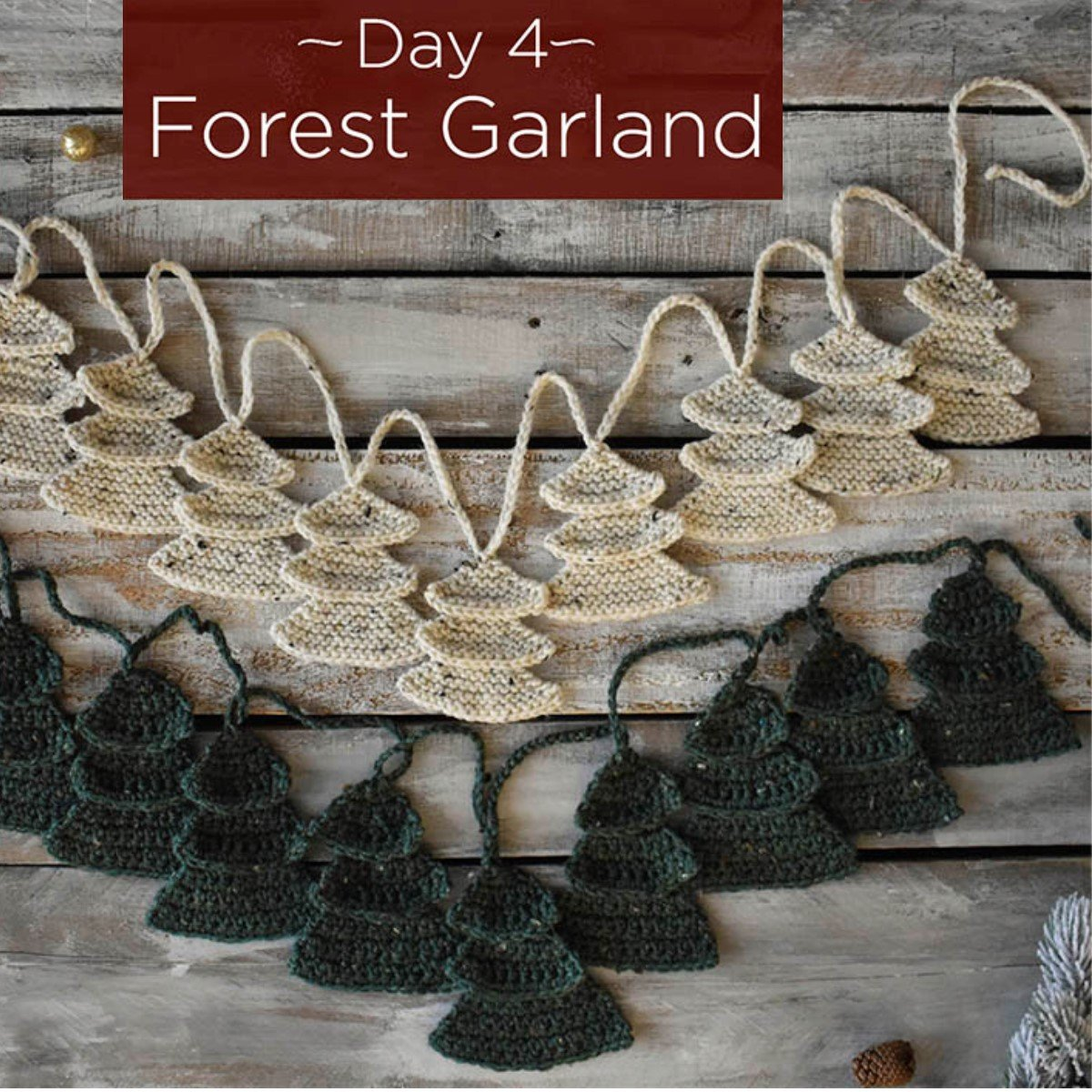 Forest Garland Kit - Day 4
