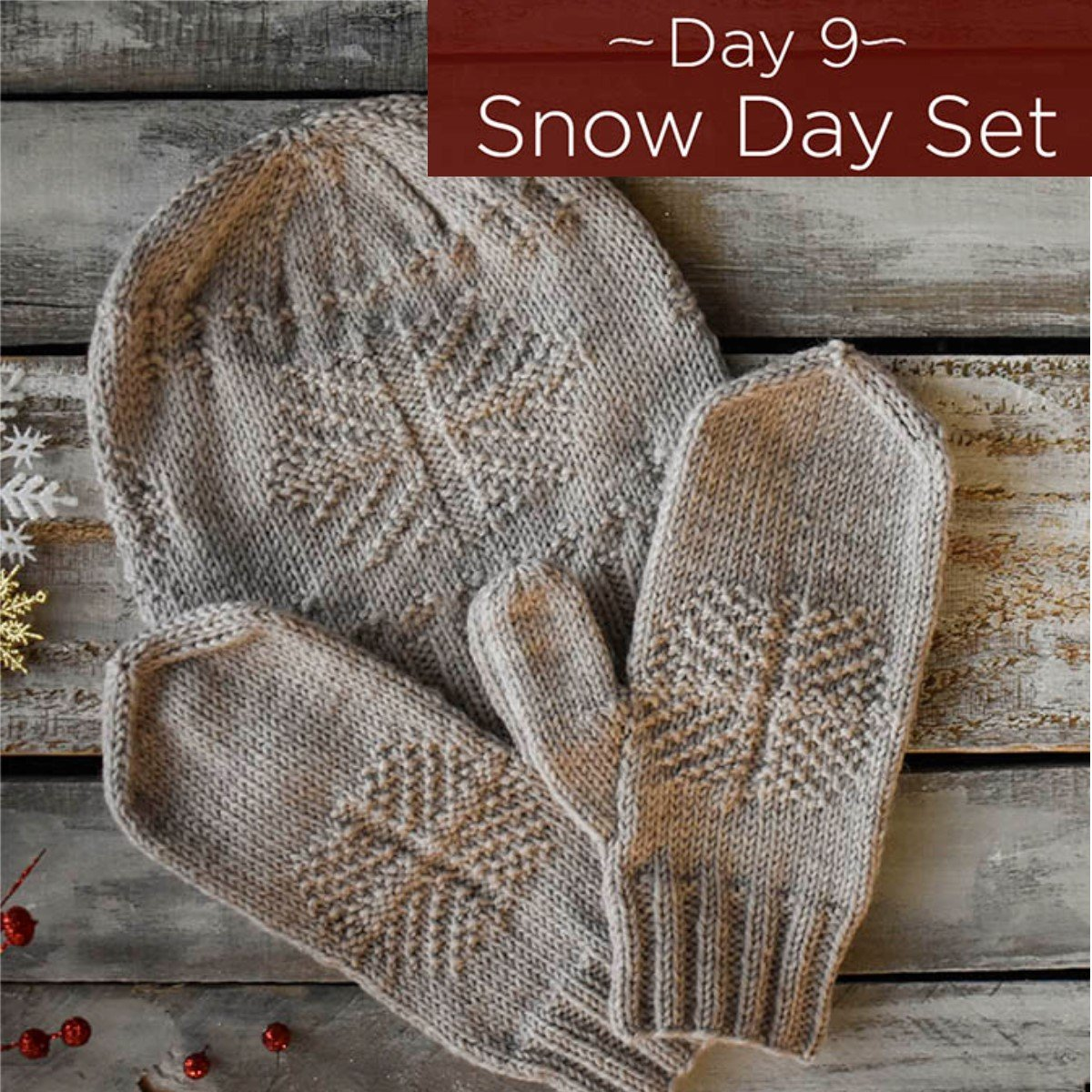 Snow Day Set Kit - Day 9