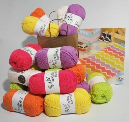 Rainbow Wave Blanket Kit