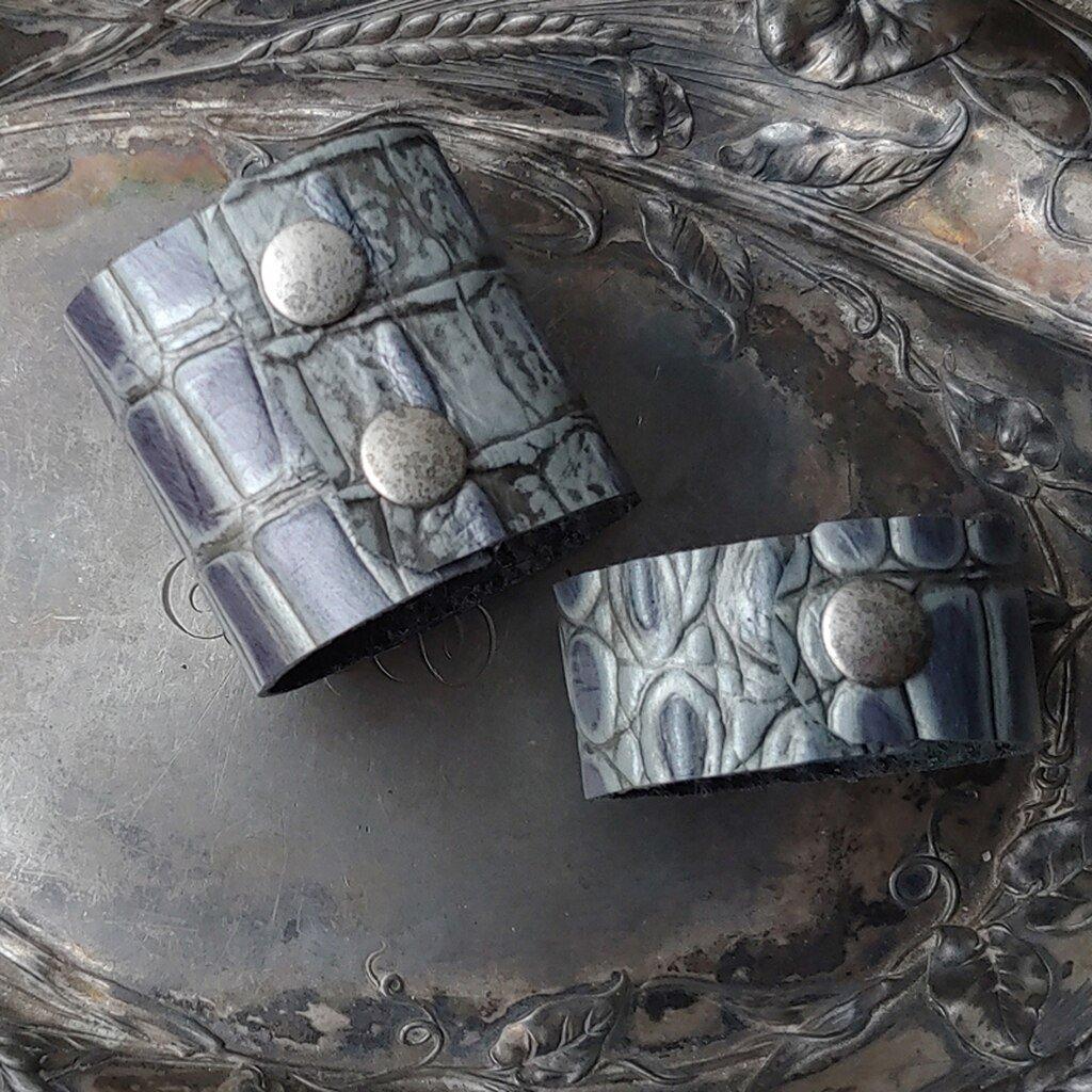 Special Leather Shawl Cuffs