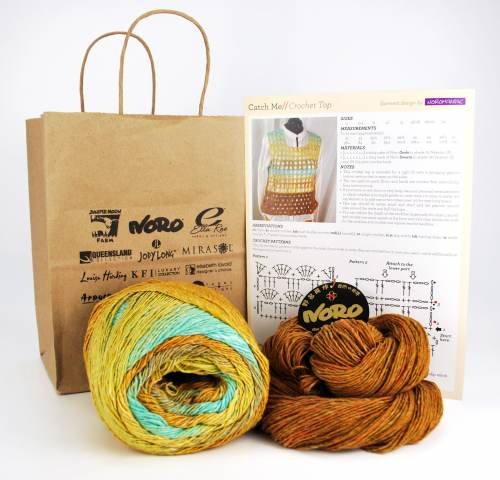 Catch Me Crochet Top Kit